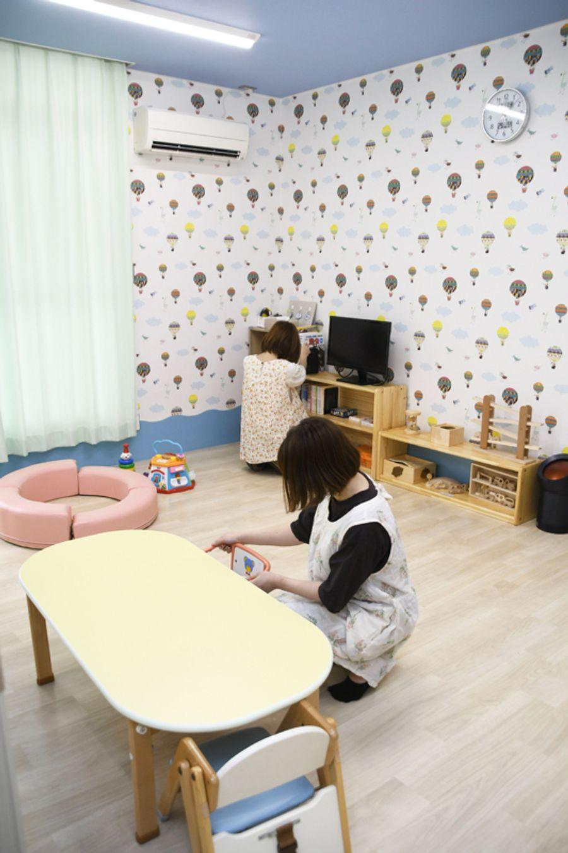 開設された病後児保育室「そらいろ」(いの町)